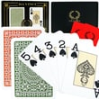 DaVinci Casino Club Poker Size Jumbo Index Playing Card