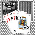 Copag Poker Size Texas Holdem Design Peek Index Card, Black