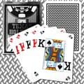 Copag Poker Size Texas Holdem Design Peek Index Card, Black