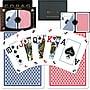 Copag Poker Size Peek Index Card, Blue/Red