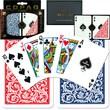 Copag Poker Size Regular Index Card, Blue/Red