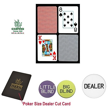 Copag Poker Size Jumbo Index Card and Dealer Kit