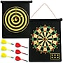 Trademark Games Magnetic Roll-Up Dart Board And Bullseye