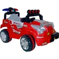 Lil' Rider™ Land King Battery Operated Jeep, Red/Gray