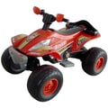 Lil' Rider™ X-750 Exceed Speed Battery Operated ATV, Red With Yellow and Orange Flames