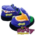 Silly Slippeez Glow in the Dark Dizzy Dinosaur Slipper, Extra Small