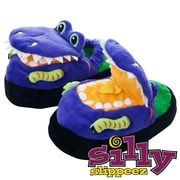 Silly Slippeez Glow in the Dark Dizzy Dinosaur Slipper, Extra Large