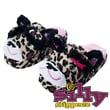 Silly Slippeez Glow in the Dark Lucky Leopard Slipper, Medium