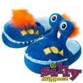 Silly Slippeez Glow in the Dark Lucky Mr. Monster Slipper, Large
