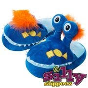 Silly Slippeez Glow in the Dark Lucky Mr. Monster Slipper, Extra Small