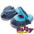 Silly Slippeez Glow in the Dark Sneaky Shark Slipper, Extra Small