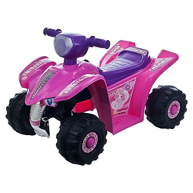 Lil' Rider™ Princess Mini Quad Ride-on Car 4 Wheeler, Pink/Purple