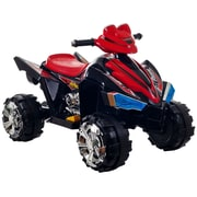 Lil' Rider™ Battery-Powered Pro Circuit Hero 4-Wheeler, Black/Red