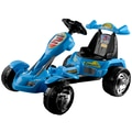 Lil' Rider™ Battery Operated Ice Go-Kart, Blue/Yellow