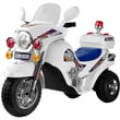 Lil' Rider™ Battery Operated Lightning Police Cruiser, White