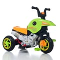 Lil' Rider™ Gemini Dual Action Battery and Pedal Power Trike, Green