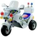 Lil' Rider™ Battery Operated MaxOut Police Motorcycle, White