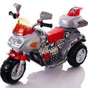 Lil' Rider™ Battery-Powered Ruby Racer Motorcycle, Red/Silver