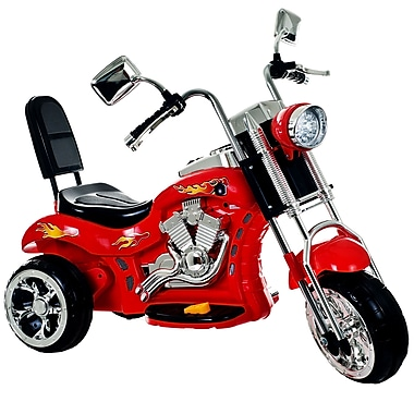 Lil' Rider™ Rocking Three Wheel Chopper Motorcycle, Red