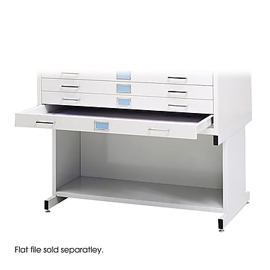 Safco® High Base For 4994 Flat File, White