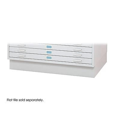 Safco® Closed Base For 4996 and 4986 Flat File, White