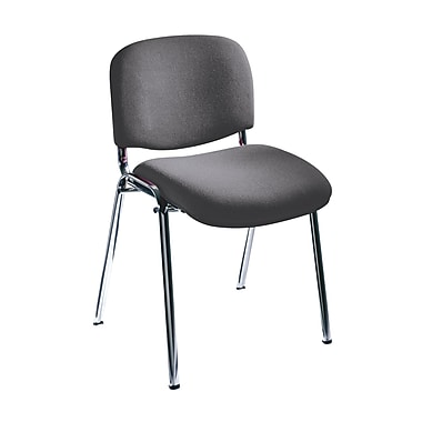 Safco® Acrylic Stacking Chair, Gray