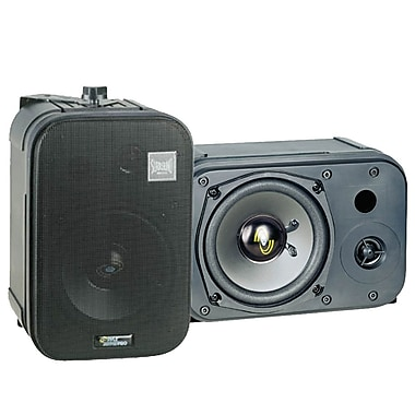 Pyle® PDMN48 400 W 5in. Two-Way Bass Reflex Mini-Monitor & Bookshelf/Wall Mount Speakers