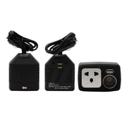 QFX 120 W Inverter With USB/Game Port, Black