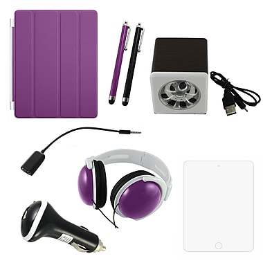7 in 1 Accessory Kit For iPad, Purple