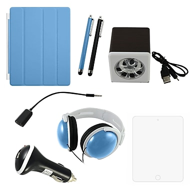 7 in 1 Accessory Kit For iPad, Blue