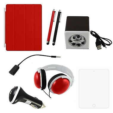 7 in 1 Accessory Kit For iPad, Red