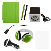 GameFitz 93578382M Accessory Kit for Apple iPad, Green