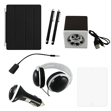 7 in 1 Accessory Kit For iPad, Black