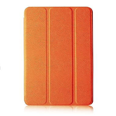 Tri-Fold Folio Case For iPad, Orange