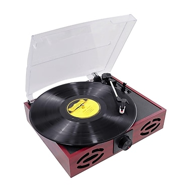 Pyle® PVNT7U Retro Style Turntable With USB to PC, 33/45/78 RPM