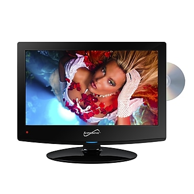 Supersonic® 15.6in. Class Widescreen LED HDTV With DVD Player