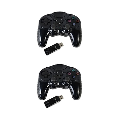 Mgear 2 Pack Of 2.4 GHz Wireless Controller For Sony Playstation 3