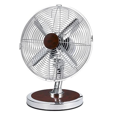Optimus F-8121 12in. Oscillating Fashion Table Fan