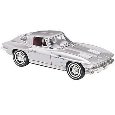 KNG America 028524 Single Line Corded Split-Window Corvette Telephone, White