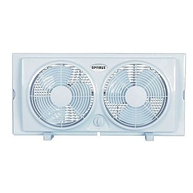 Optimus F-5280 7in. Twin Window Fan