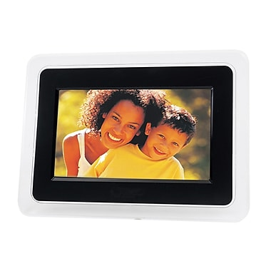 Naxa® NF-502 TFT LCD Digital Photo Frame, 7in.