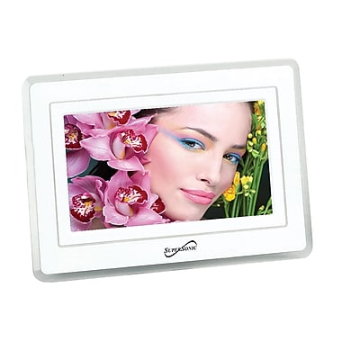 Supersonic® SC-7001 Digital Photo Frame With USB and SD Inputs, 7in.