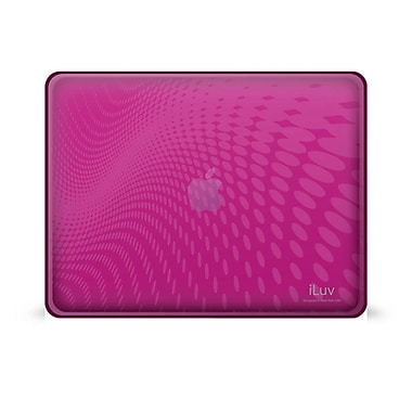 iLuv® Flexi-Clear Case For iPad 1G, Pink