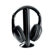 Naxa Professional NE-922A 5 In 1 Wireless On-Ear Headphone with Mic, Black