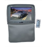 Pyle® PL1101HR Adjustable Headrest Built In 11 TFT/LCD Monitor With IR Transmitter and Cover, Gray