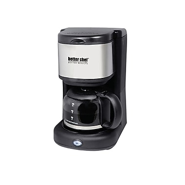 Better Chef® 4 Cup Coffee Maker, Black