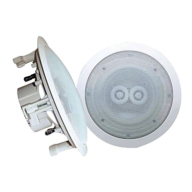 Pyle® PWRC52 200 W 5 1/4in. In-Ceiling (Dual Channel/ Voice Coil) Weather Proof Single Speaker