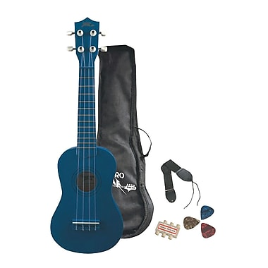 Pyle® 4 String Soprano Ukulele Starter Package All Ages Mini Guitars