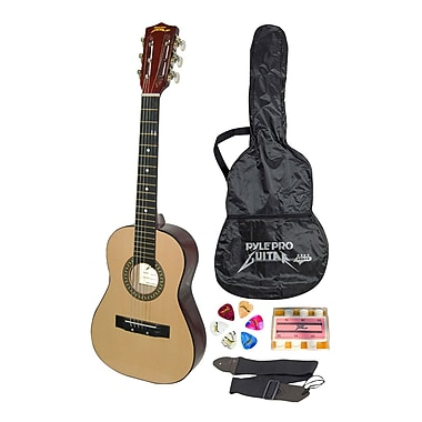 Pyle® 30in. Beginner Jamer Acoustic Guitar With Carrying Case and Accessories