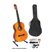 Pyle® 39 Classical Guitar Starter Package With Gig Bag/Strap/Picks/Tuner and Strings